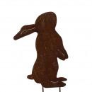 Metal plug bunny